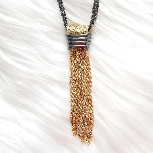 Stella & Dot Jewelry - Stella & Dot Windsor Tassel Necklace